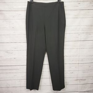 Talbots Hollywood Pants. Size 12 Black